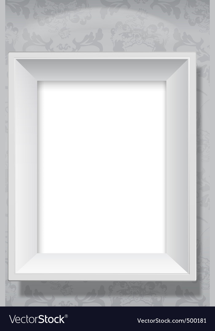 Picture frame hanging vector | Price: 1 Credit (USD $1)
