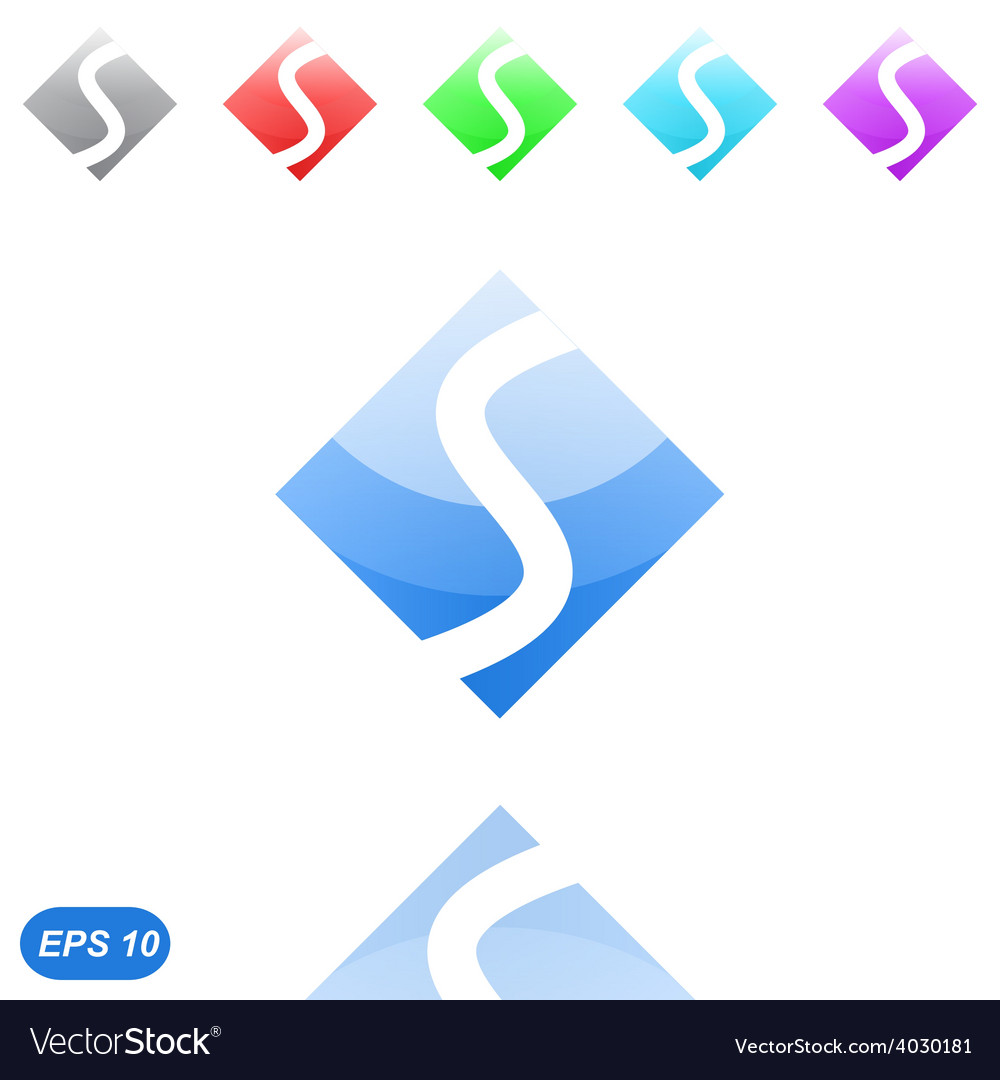 Speed concept - s letter vector | Price: 1 Credit (USD $1)