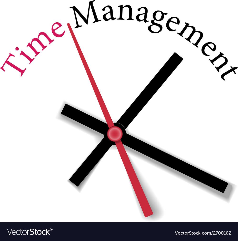 Efficient time management clock work vector   Price: 1 Credit (USD $1)