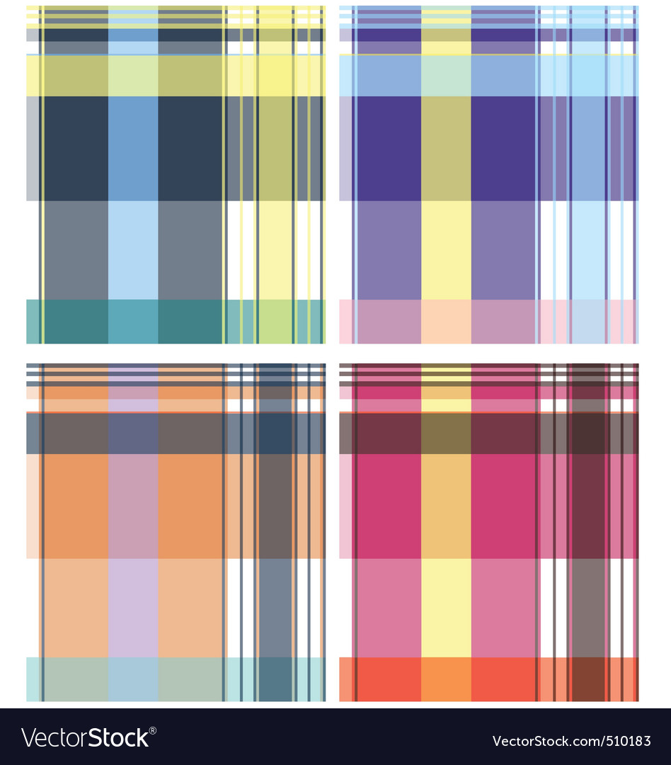 Check pattern collection vector | Price: 1 Credit (USD $1)