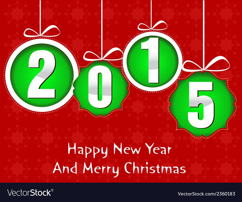 Happy new year 2015 vector   Price: 1 Credit (USD $1)
