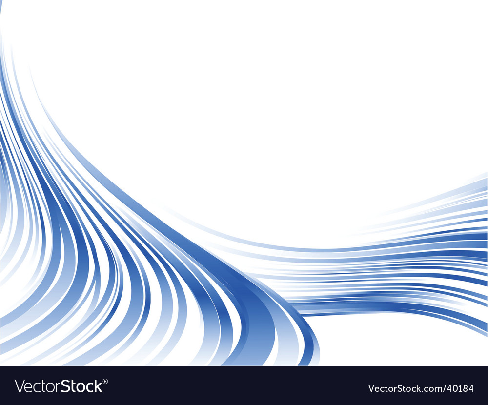 Abstract blue lines vector | Price: 1 Credit (USD $1)
