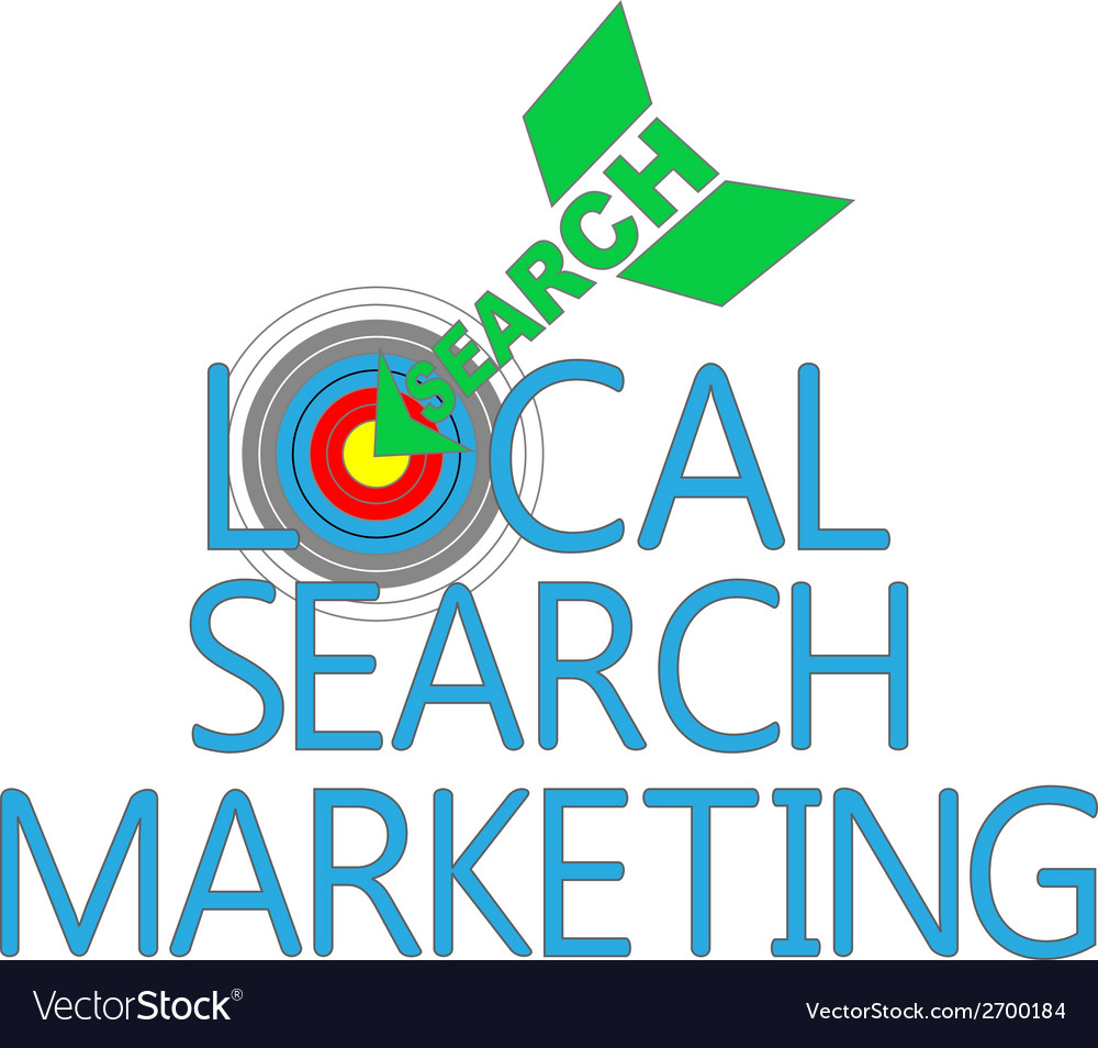 Local search marketing target seo vector   Price: 1 Credit (USD $1)