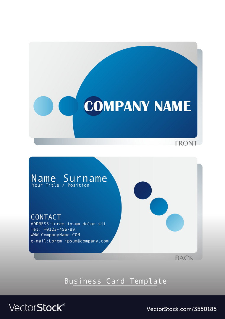 Business card vector | Price: 1 Credit (USD $1)