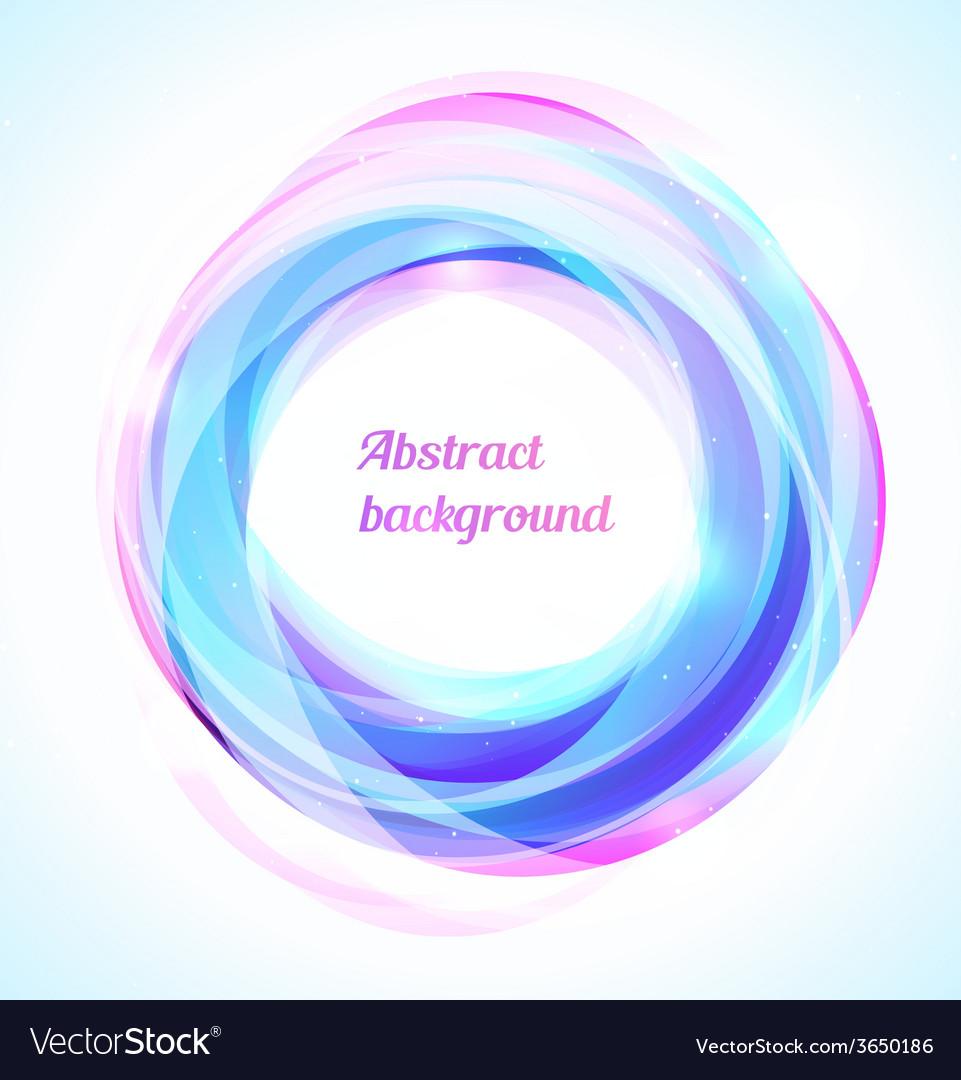 Bright blue swirl vector | Price: 1 Credit (USD $1)