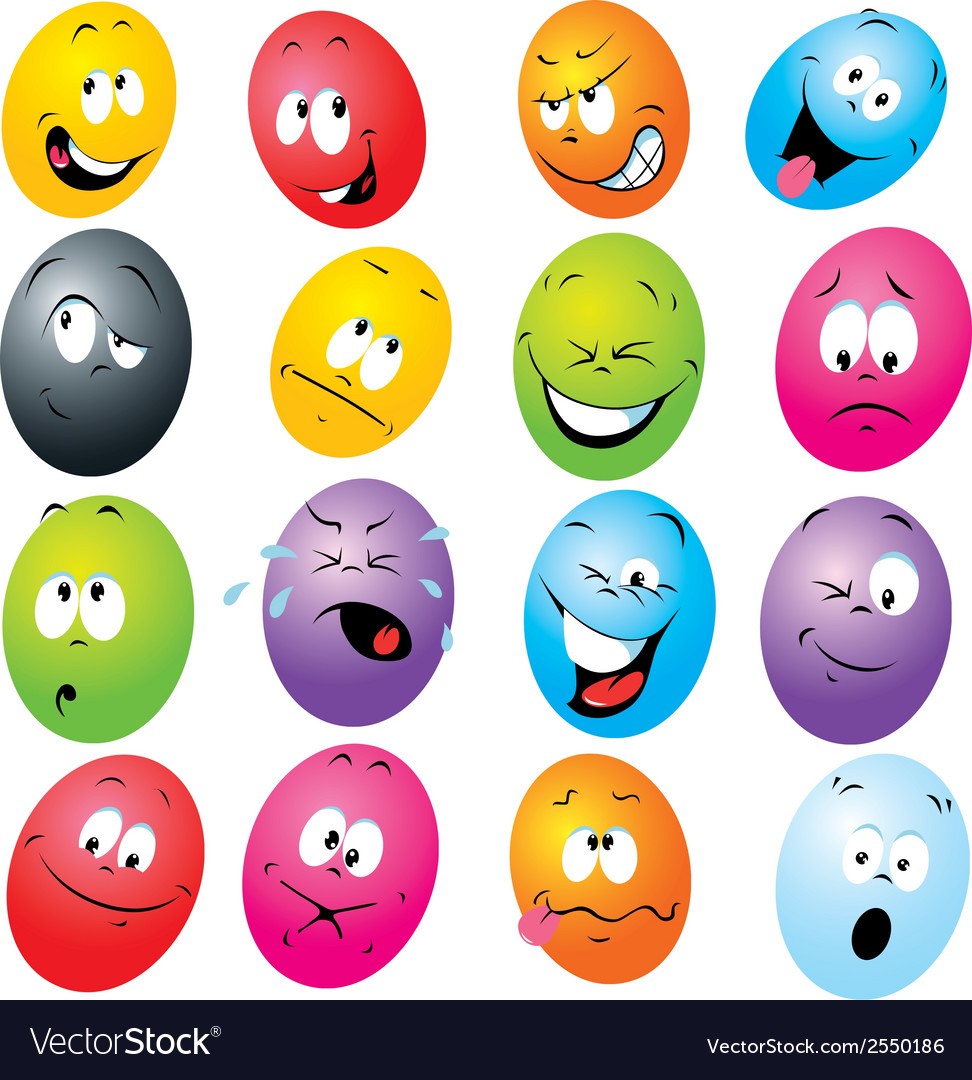 Cartoon eggs vector | Price: 1 Credit (USD $1)