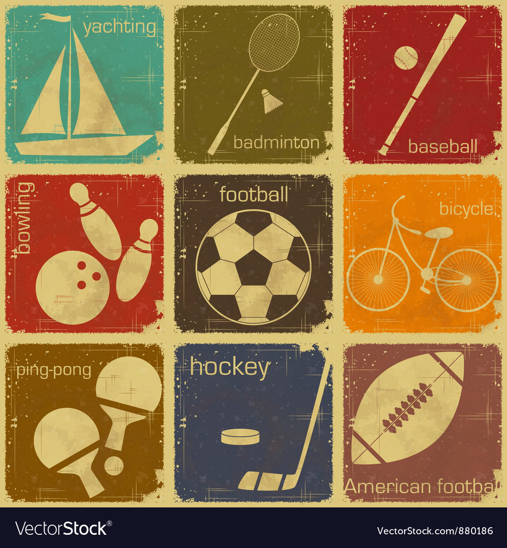 Sport icon color vector | Price: 1 Credit (USD $1)