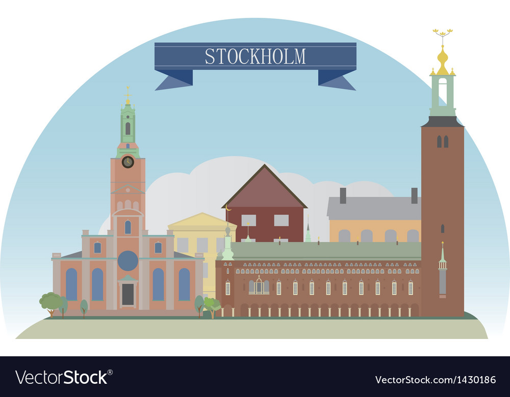 Stockholm vector | Price: 3 Credit (USD $3)