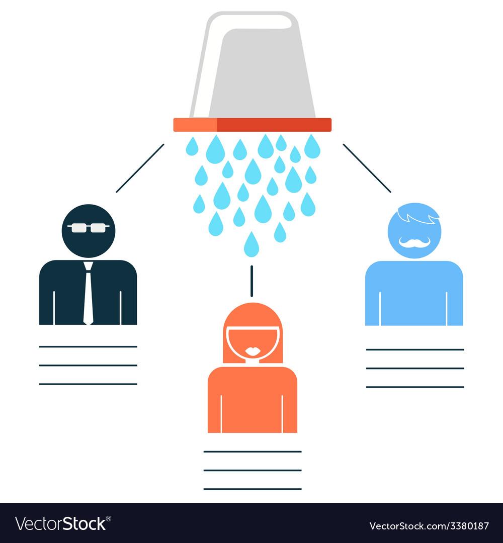 Als ice bucket challenge vector | Price: 1 Credit (USD $1)