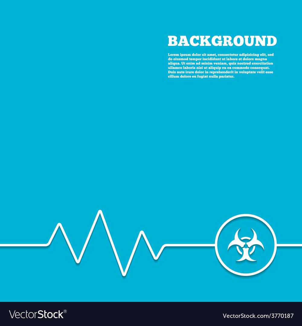 Biohazard sign icon danger symbol vector | Price: 1 Credit (USD $1)