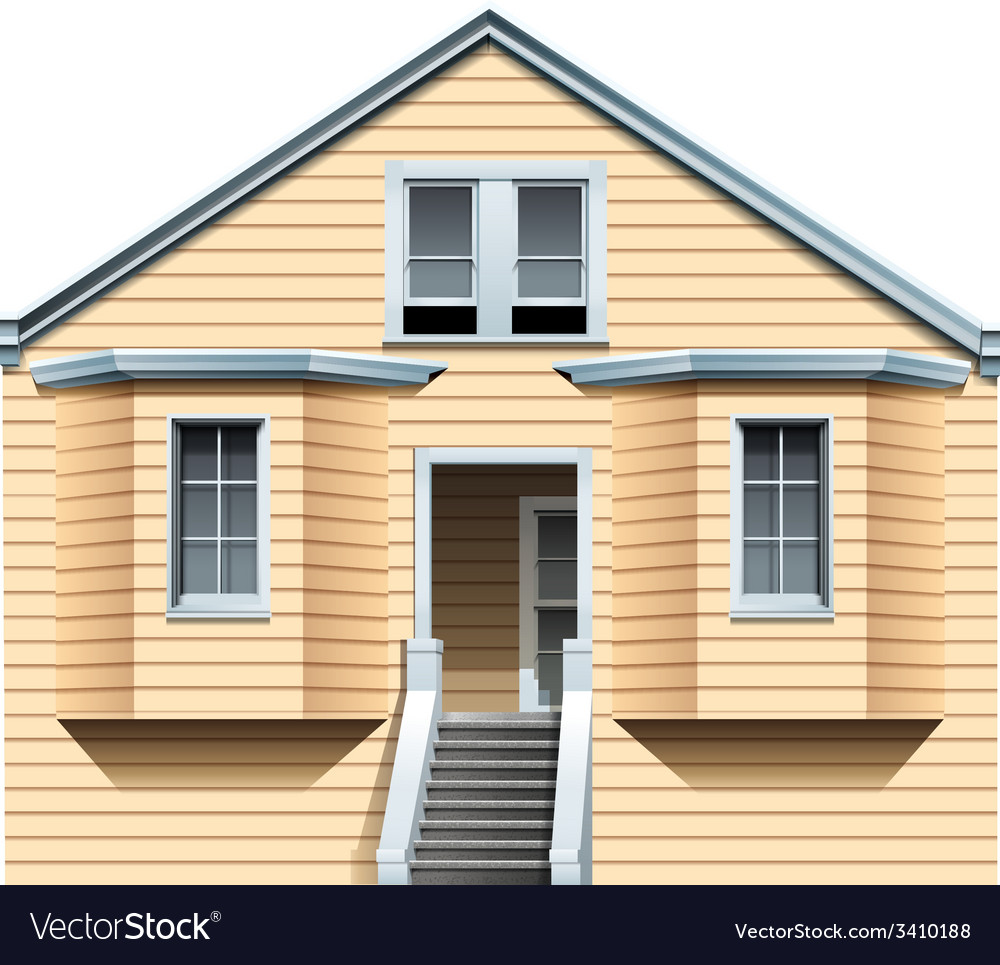 A big old house vector | Price: 1 Credit (USD $1)