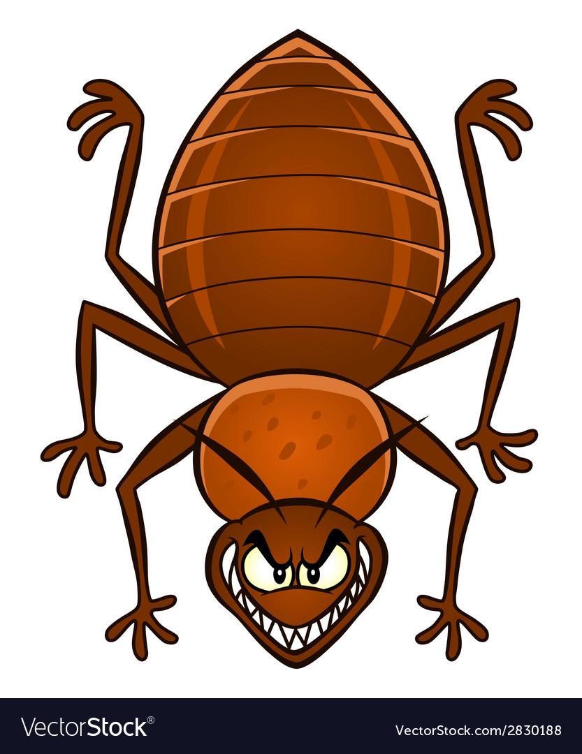 Cartoon bedbug vector | Price: 1 Credit (USD $1)