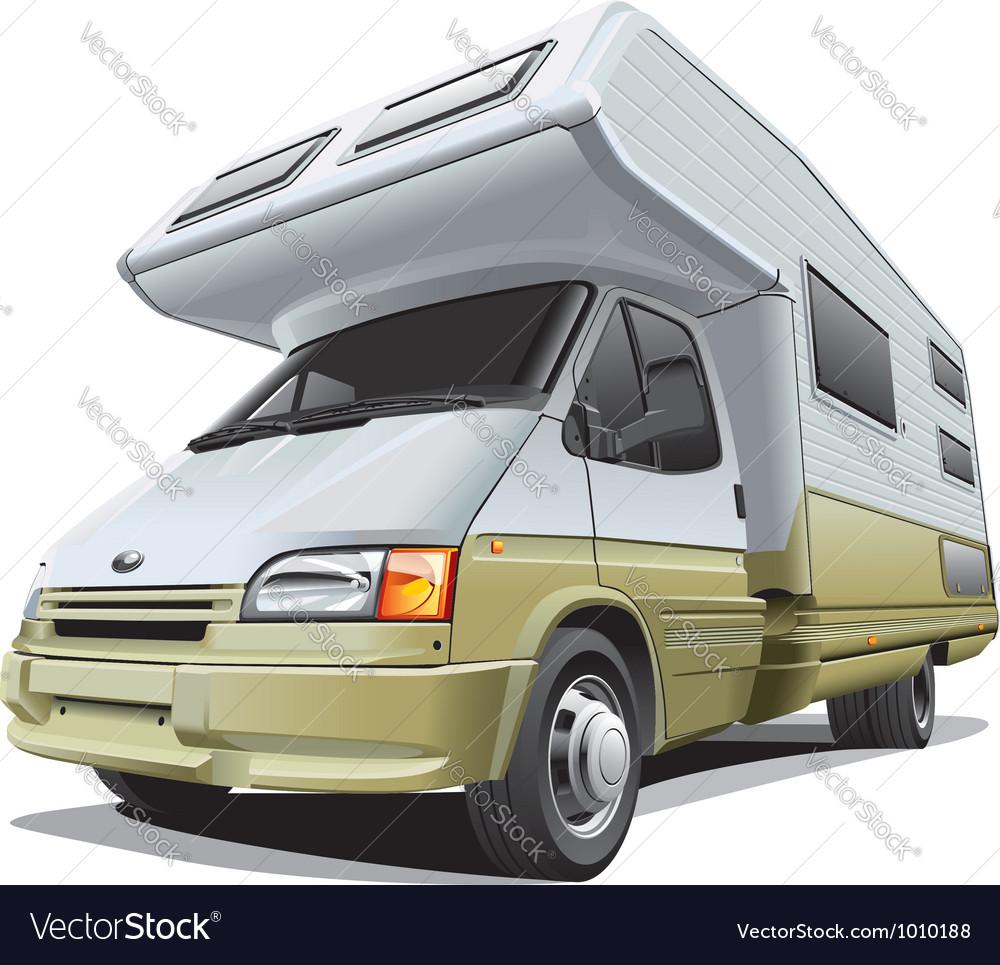 Compact camper vector | Price: 5 Credit (USD $5)