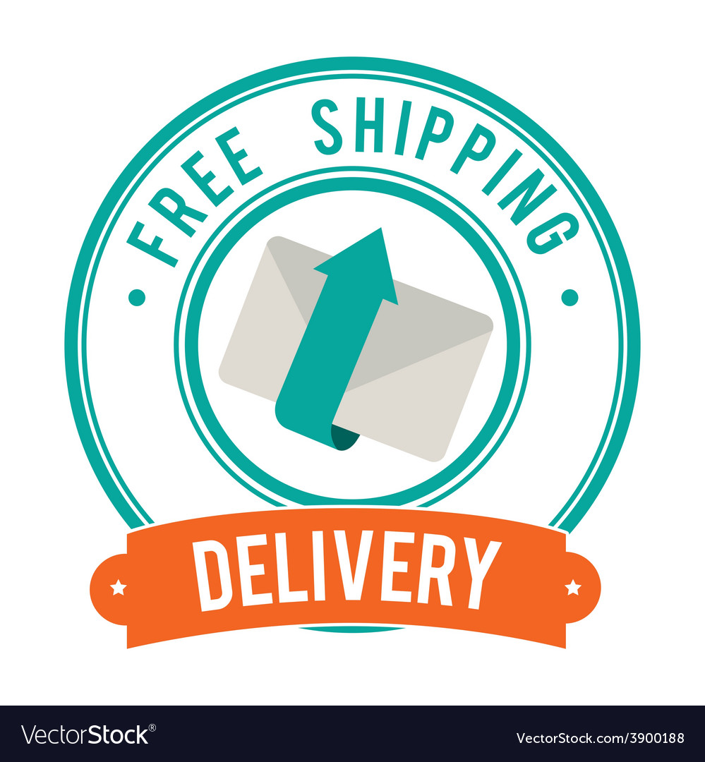 Delivery design over white background vector | Price: 1 Credit (USD $1)