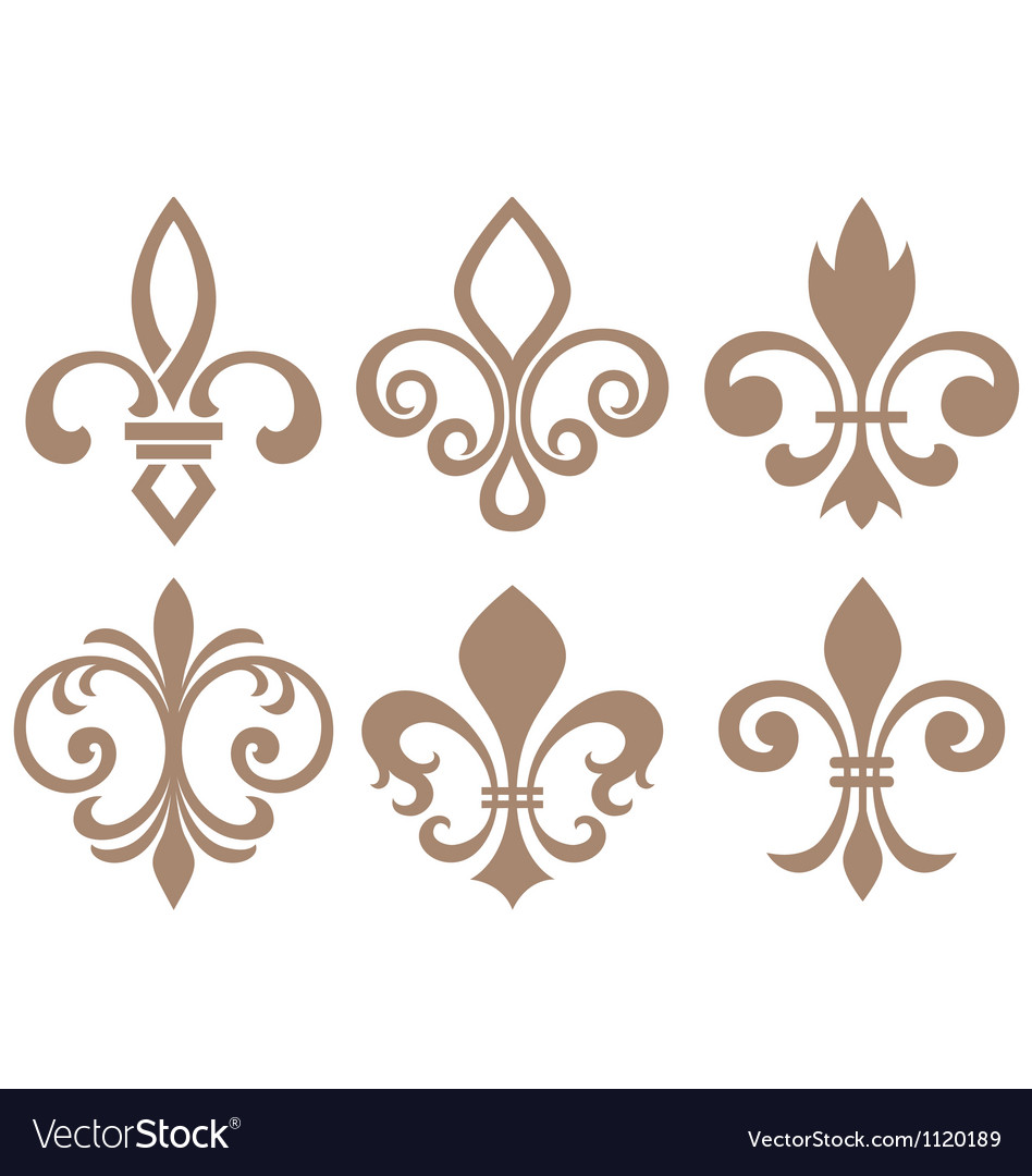 Fleur de lis symbol vector | Price: 1 Credit (USD $1)