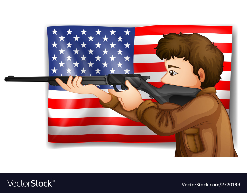 Usa hunter vector | Price: 1 Credit (USD $1)