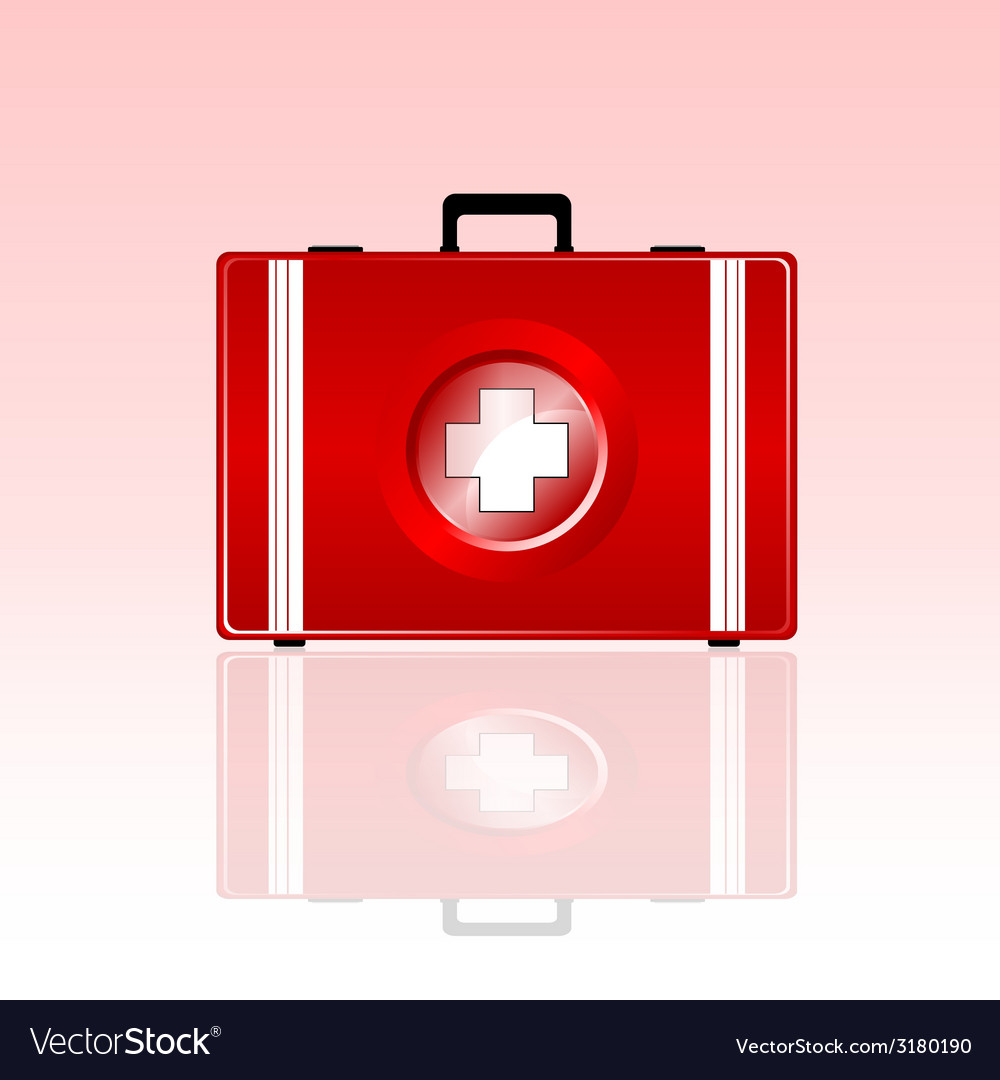 First aid bag vector | Price: 1 Credit (USD $1)