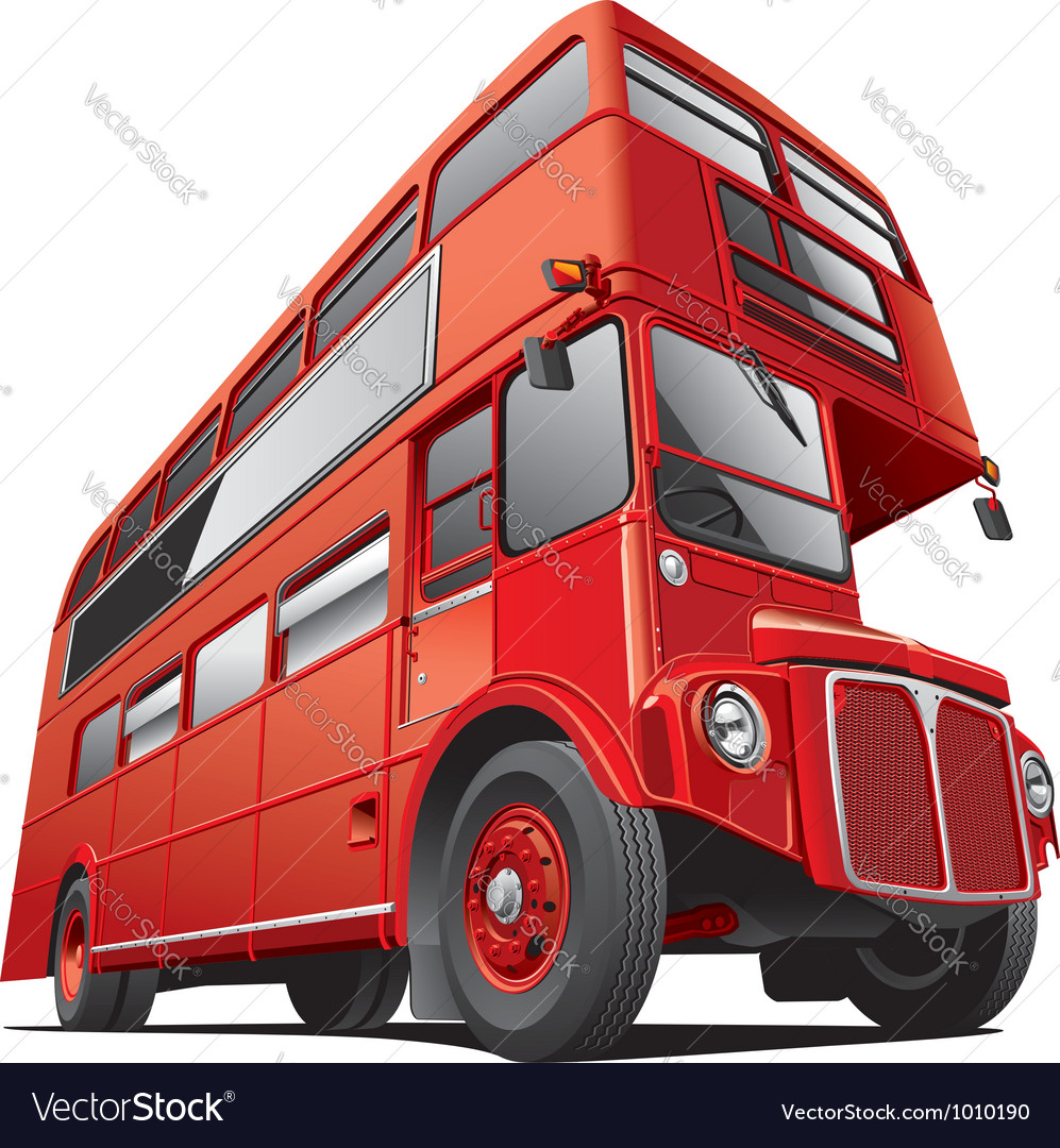London double dacker bus vector | Price: 5 Credit (USD $5)