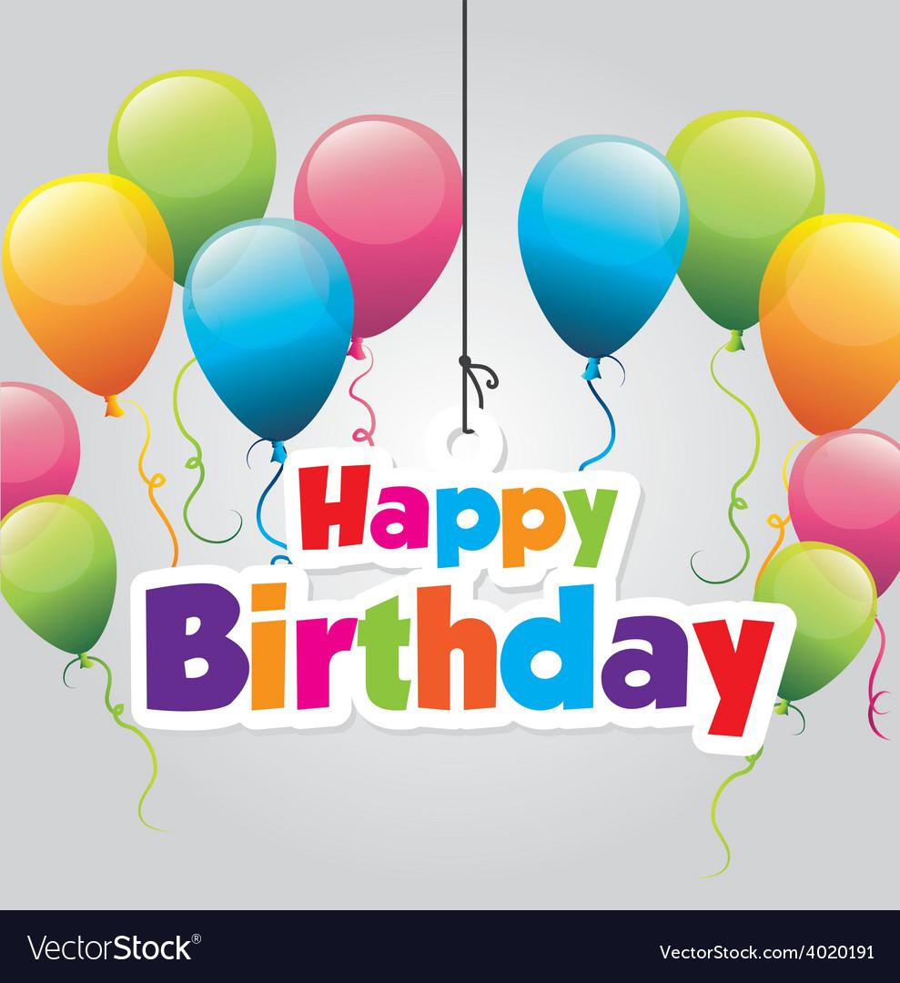 Birthday design vector   Price: 1 Credit (USD $1)