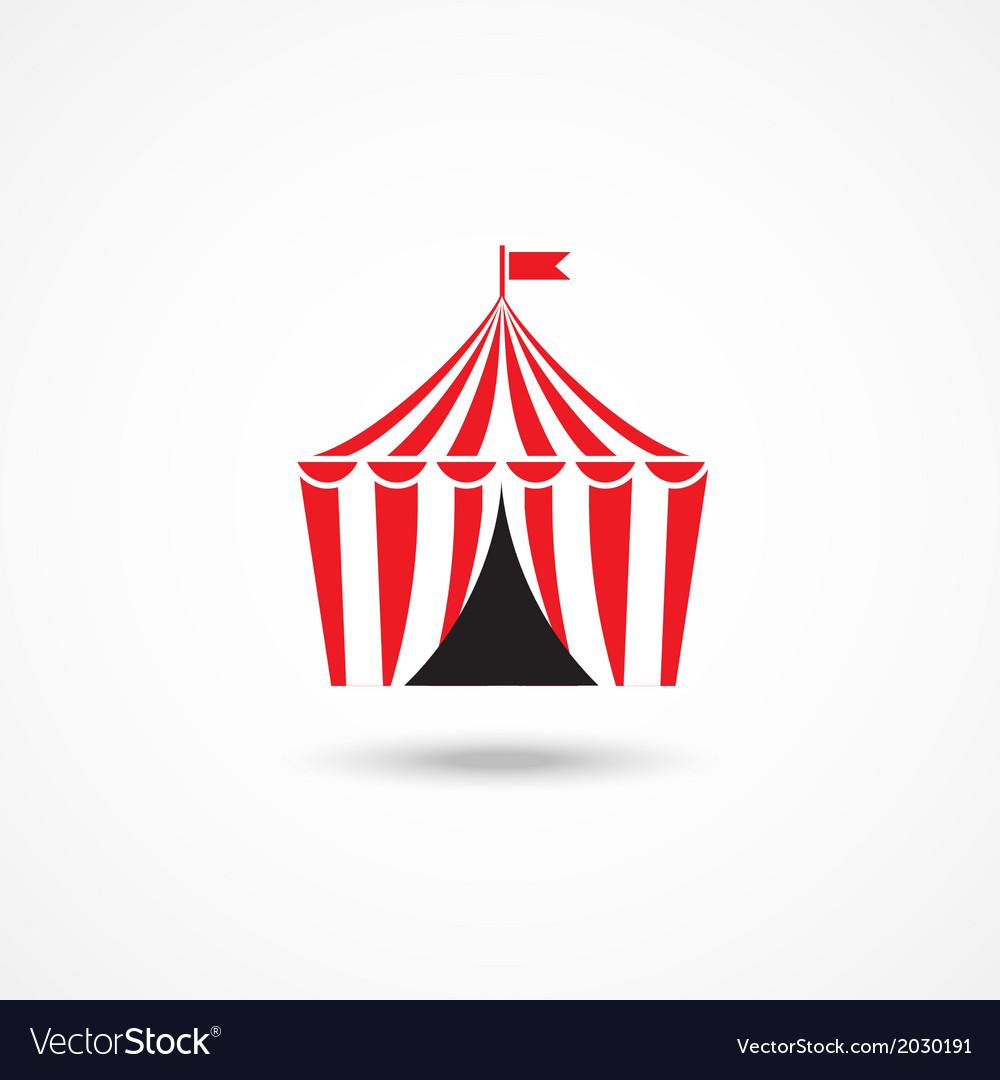 Circus icon vector | Price: 1 Credit (USD $1)