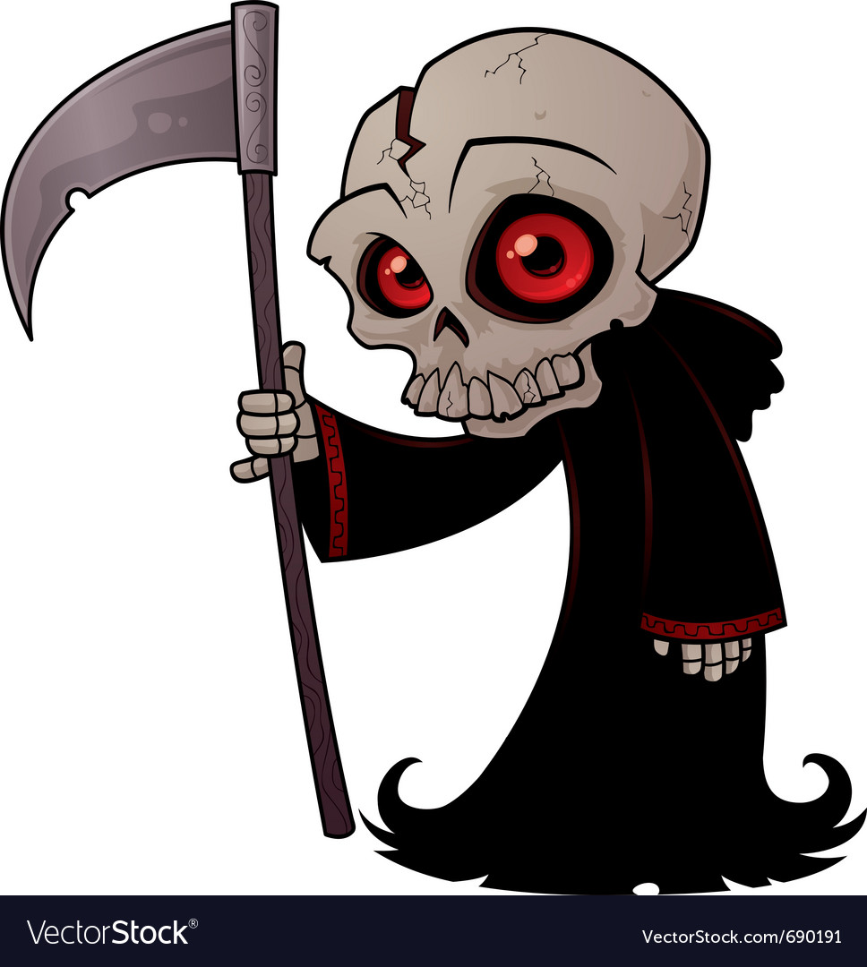 Little grim reaper vector | Price: 3 Credit (USD $3)