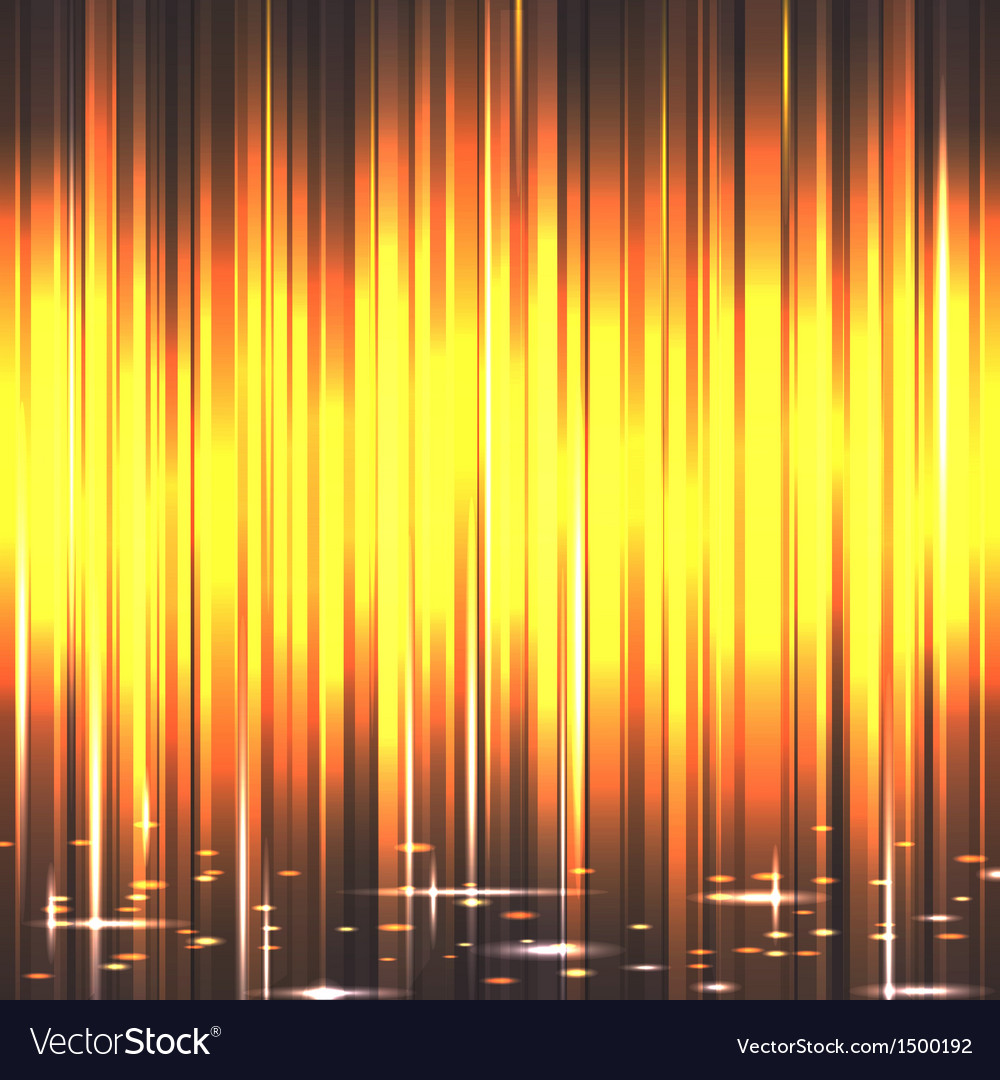 Spotlights with yellow rays and glowing effec vector | Price: 1 Credit (USD $1)