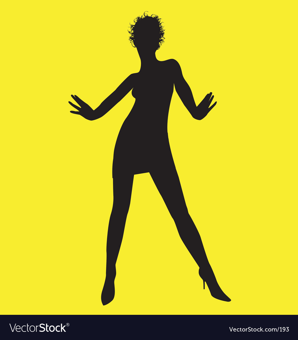 Dance pose vector | Price: 1 Credit (USD $1)