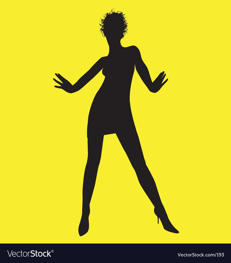 Dance pose vector | Price: 1 Credit (USD $1)