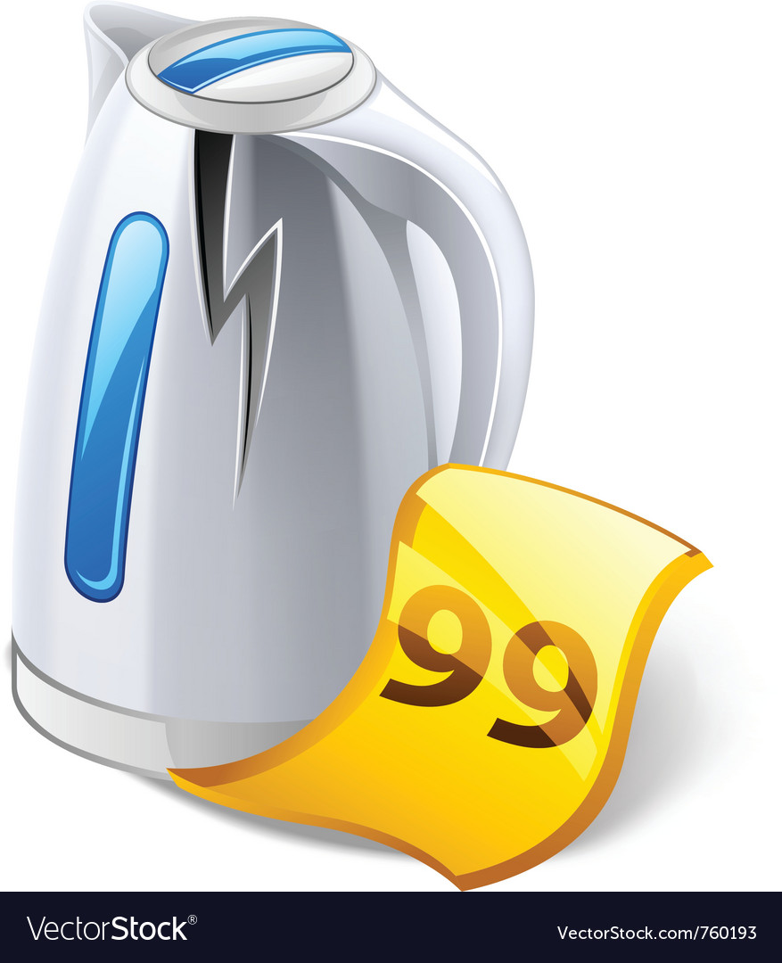 Kettle sale vector | Price: 3 Credit (USD $3)