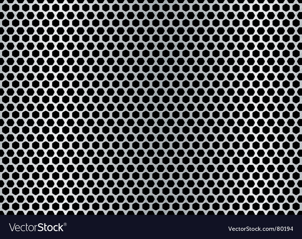 Metal hexagon background vector | Price: 1 Credit (USD $1)