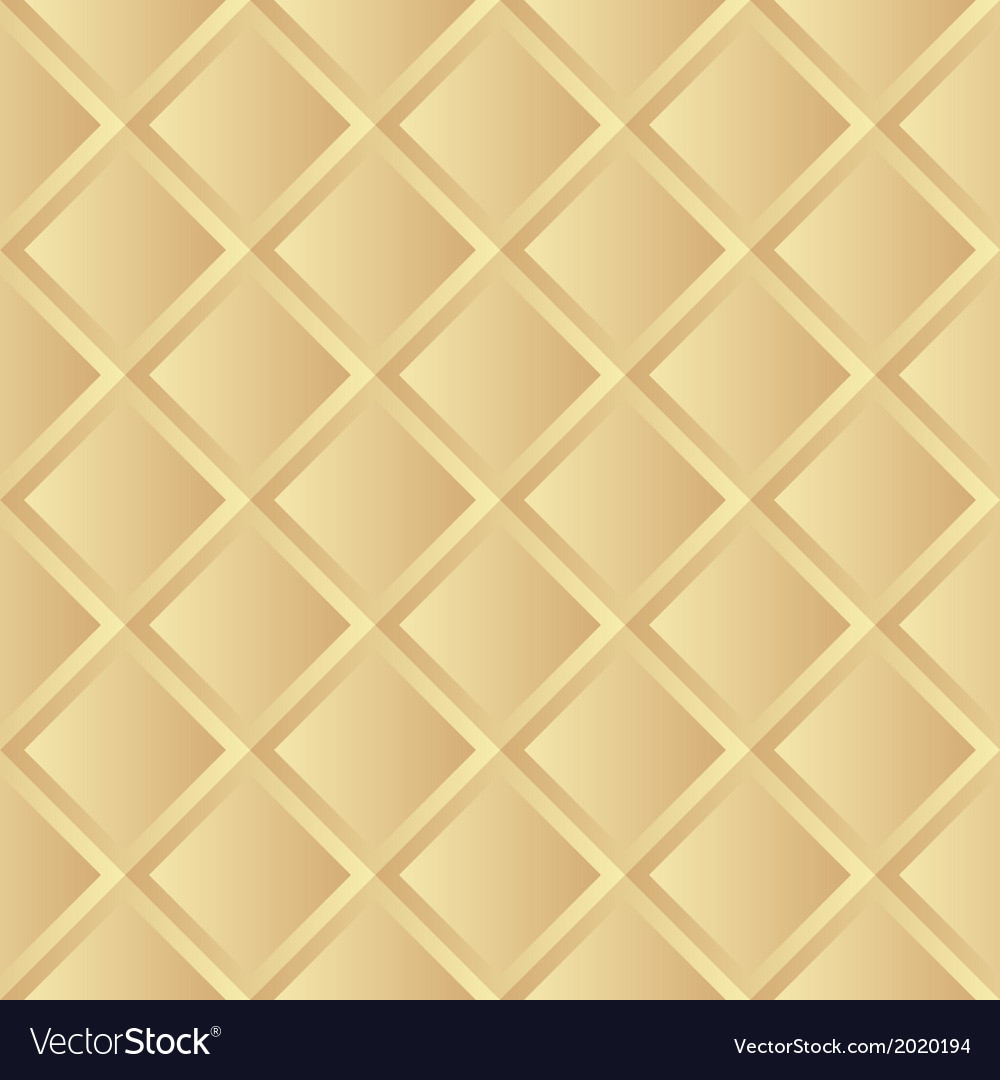 Seamless gold background pattern vector | Price: 1 Credit (USD $1)