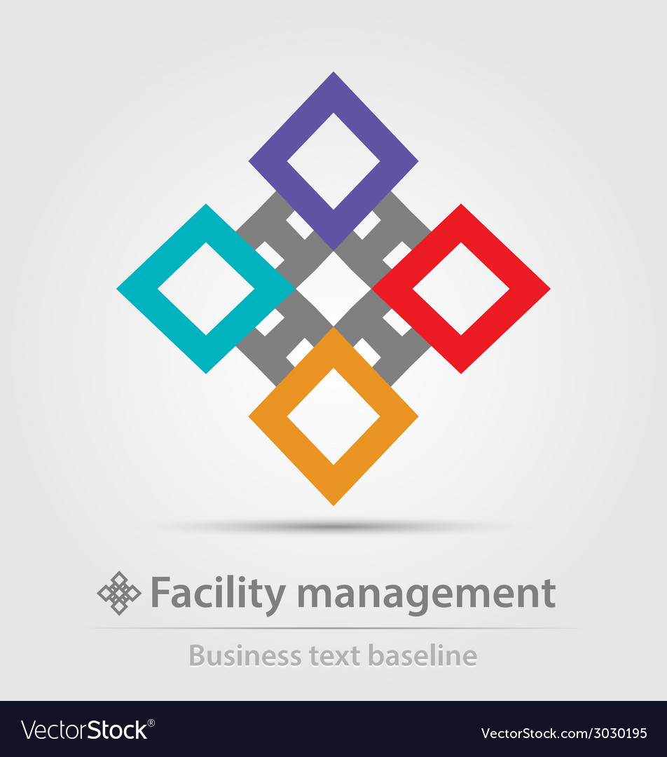Colorful business icon vector | Price: 1 Credit (USD $1)