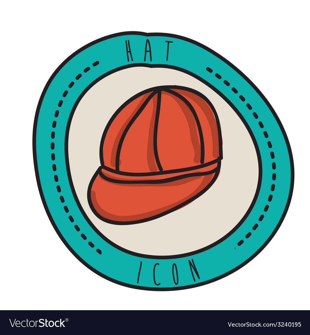 Hat design vector | Price: 1 Credit (USD $1)