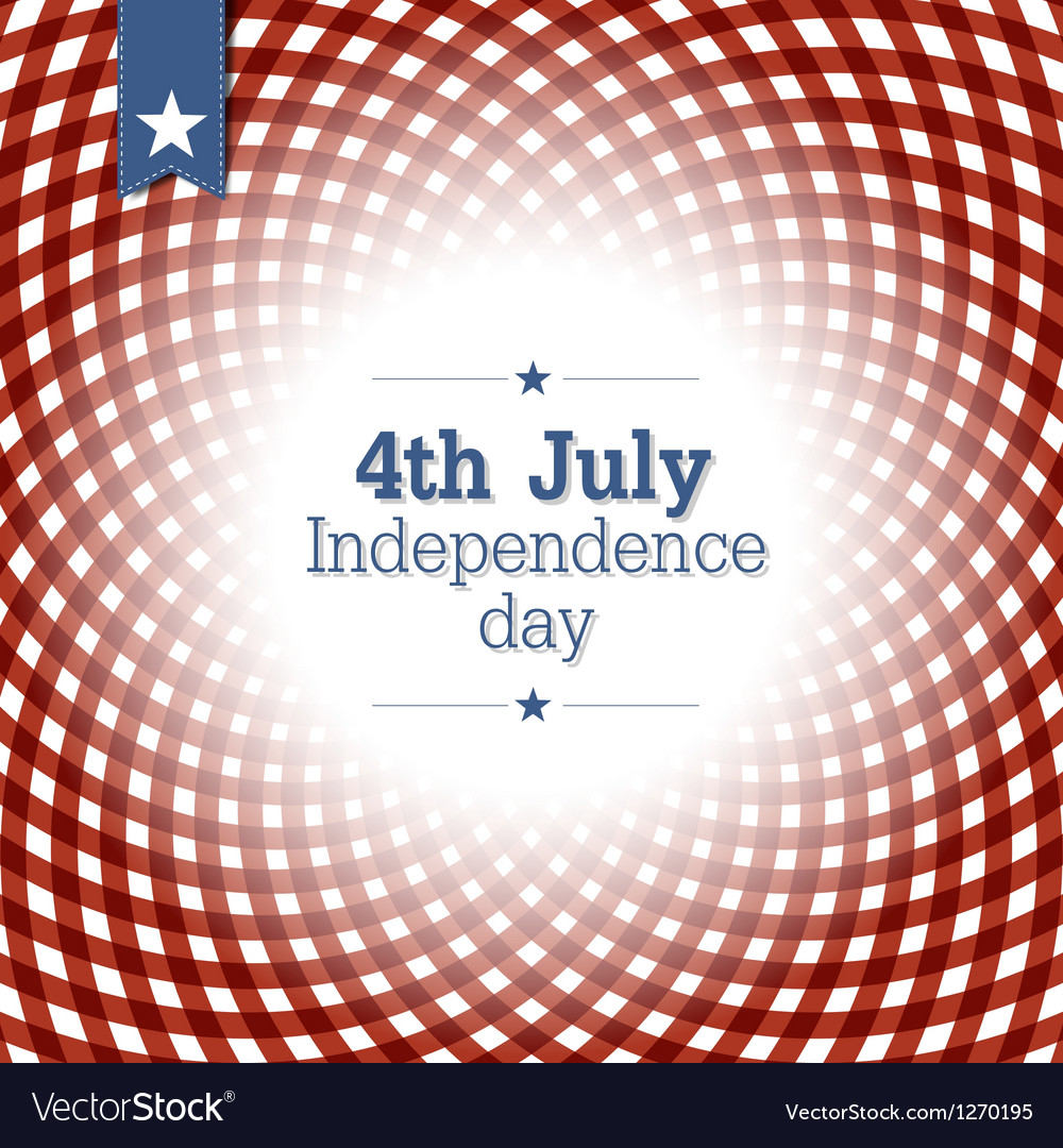 Independence day card template vector | Price: 1 Credit (USD $1)