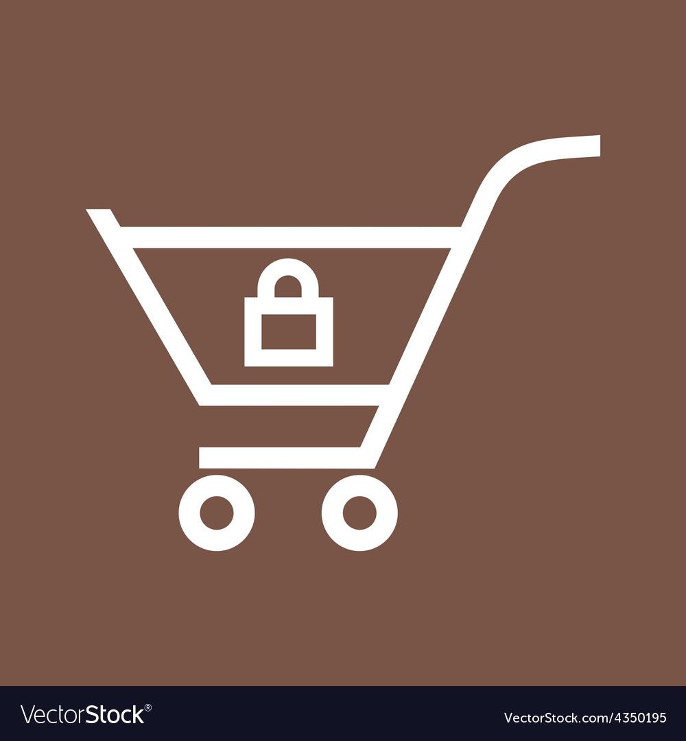 Locked cart vector   Price: 1 Credit (USD $1)