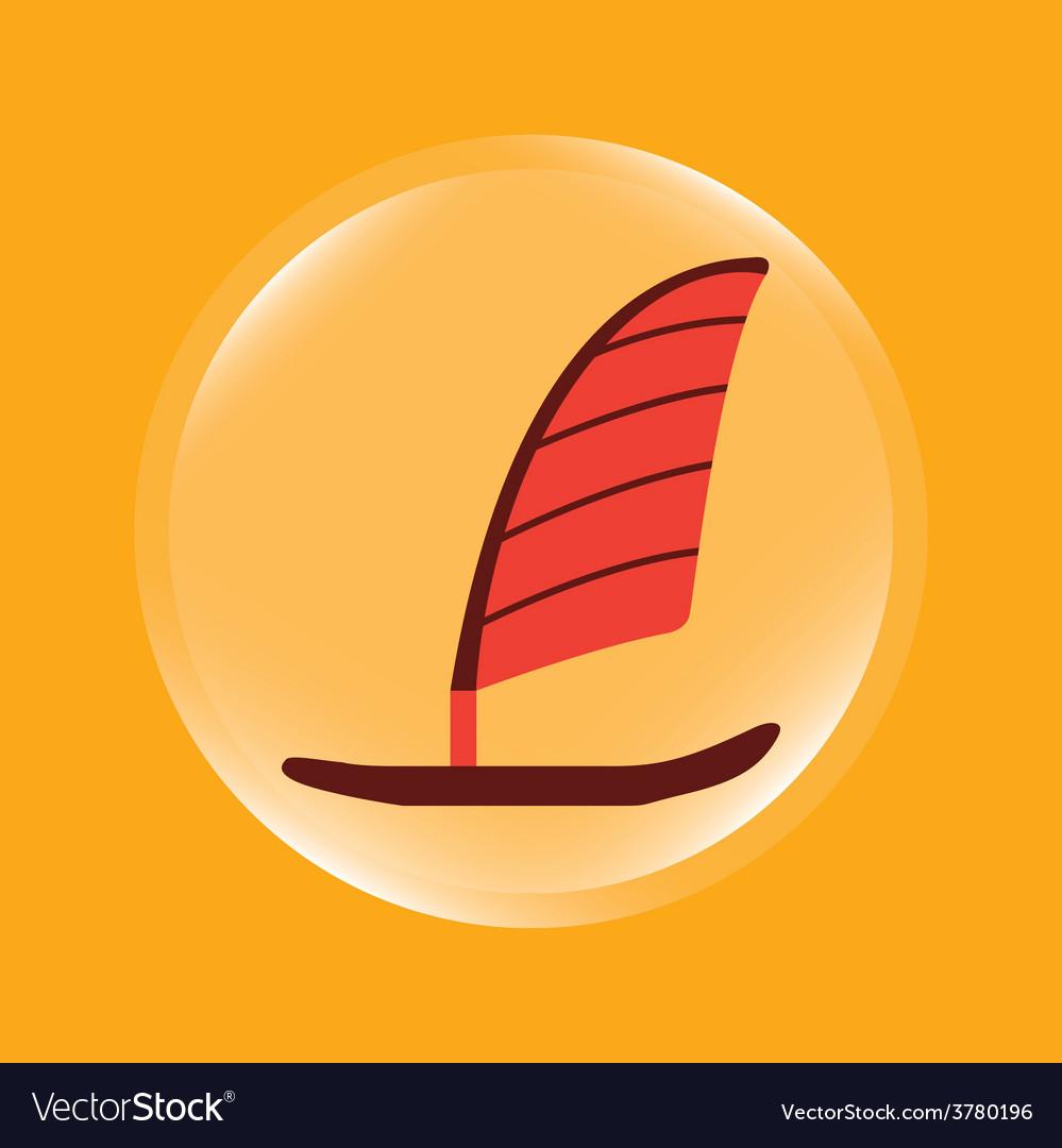 Boat icon vector | Price: 1 Credit (USD $1)