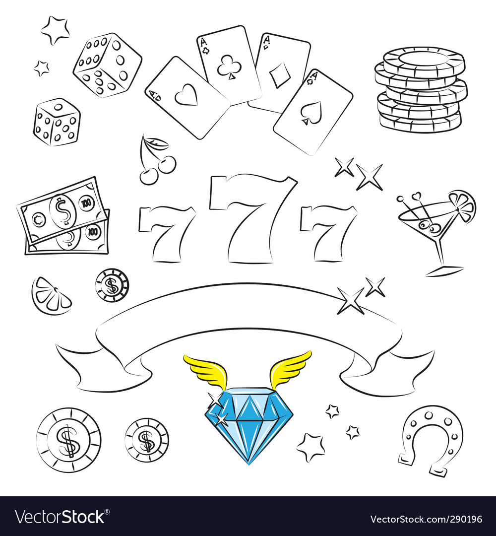 Casino graphics vector | Price: 1 Credit (USD $1)
