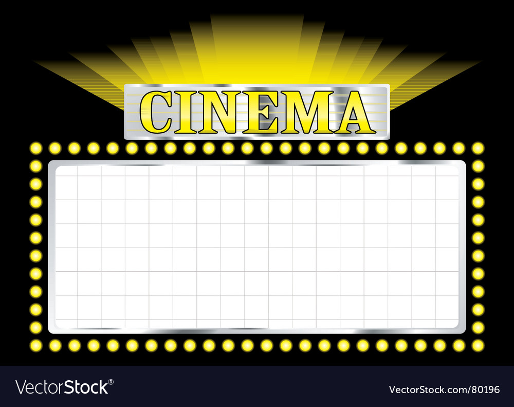 Deco cinema vector | Price: 1 Credit (USD $1)