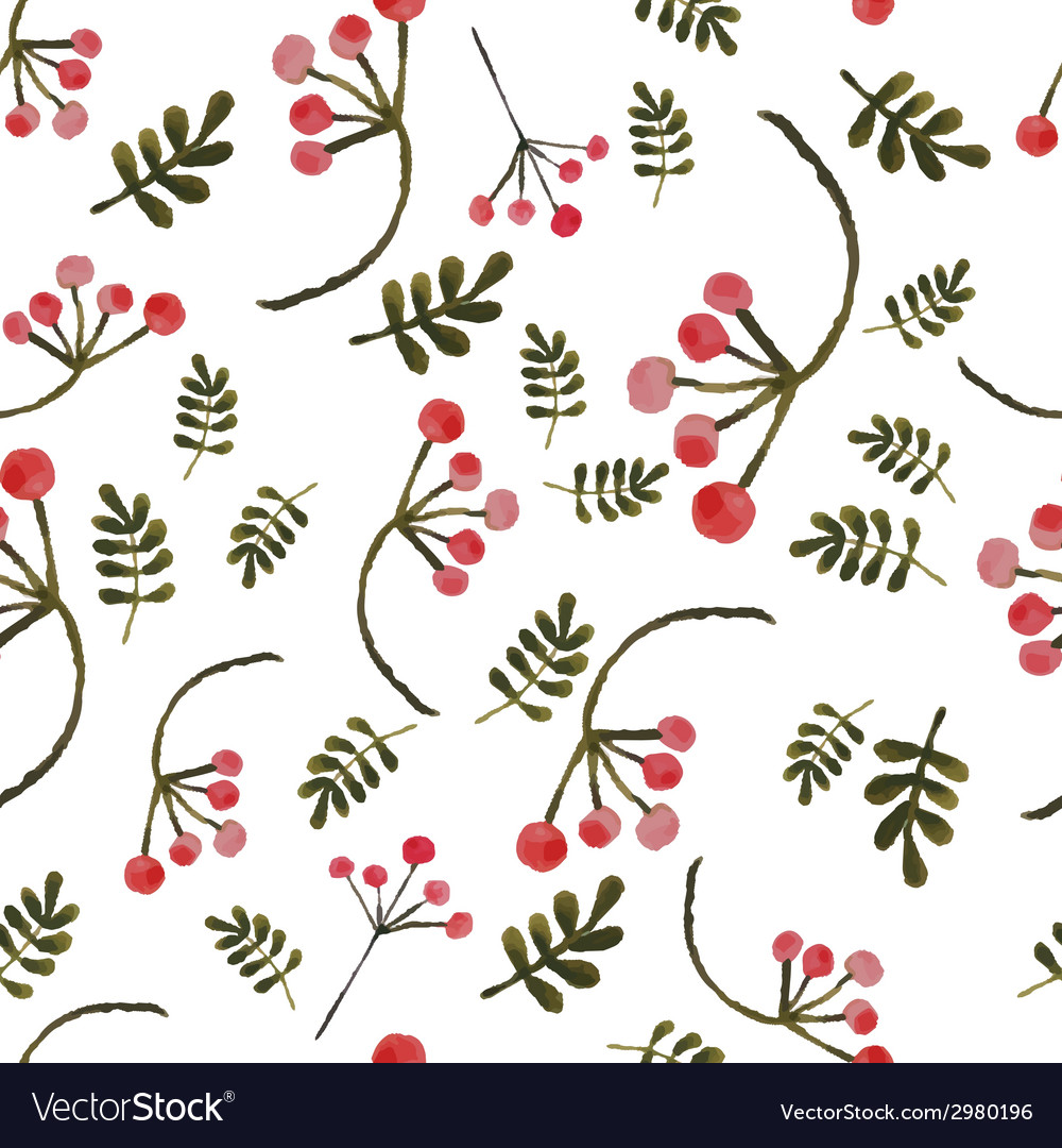 Handpaint watercolor seamless pattern vector | Price: 1 Credit (USD $1)