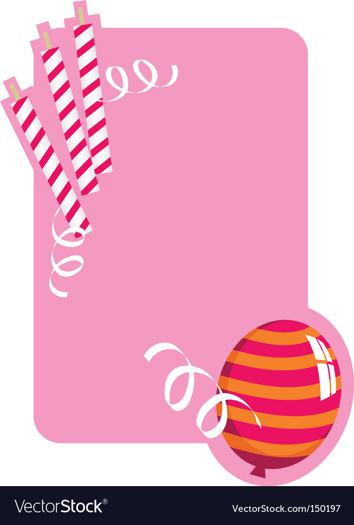 Birthday board vector | Price: 1 Credit (USD $1)