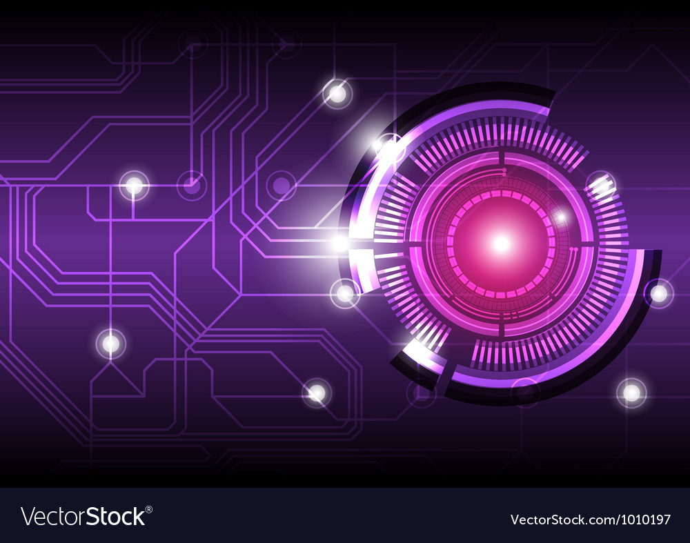 Future digital button design background vector | Price: 1 Credit (USD $1)