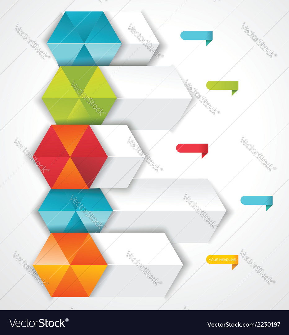 Modern design template isometric style vector   Price: 1 Credit (USD $1)