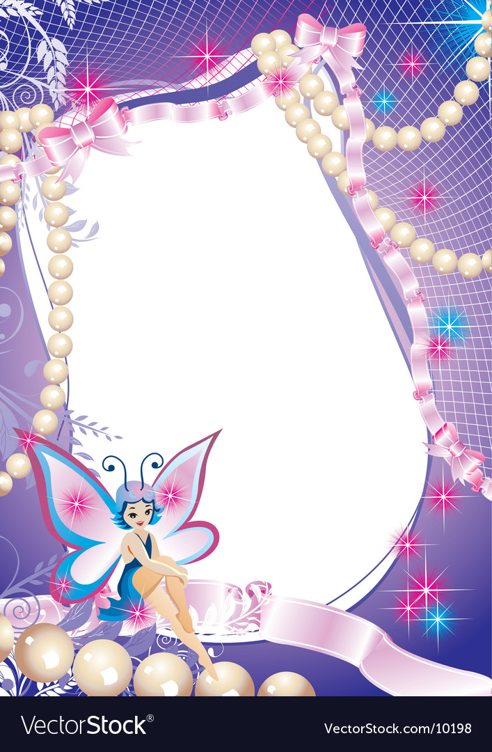 Fairy-tale frame graphic vector | Price: 3 Credit (USD $3)