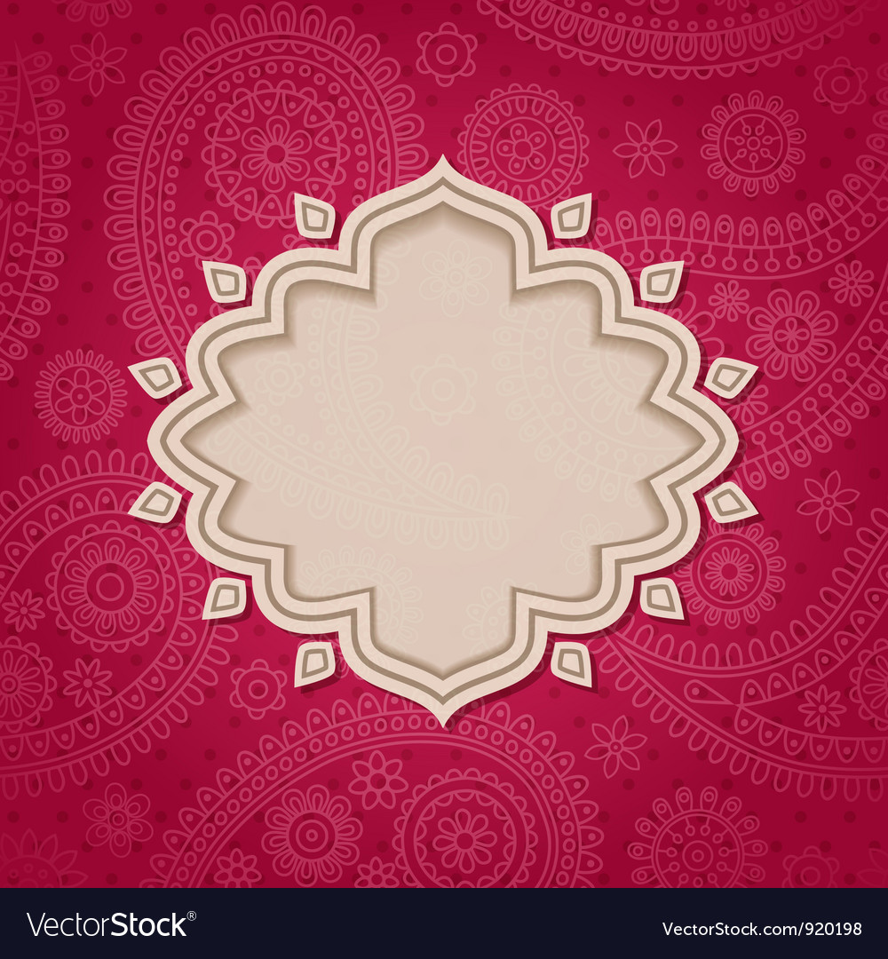 Indian frame vector | Price: 1 Credit (USD $1)