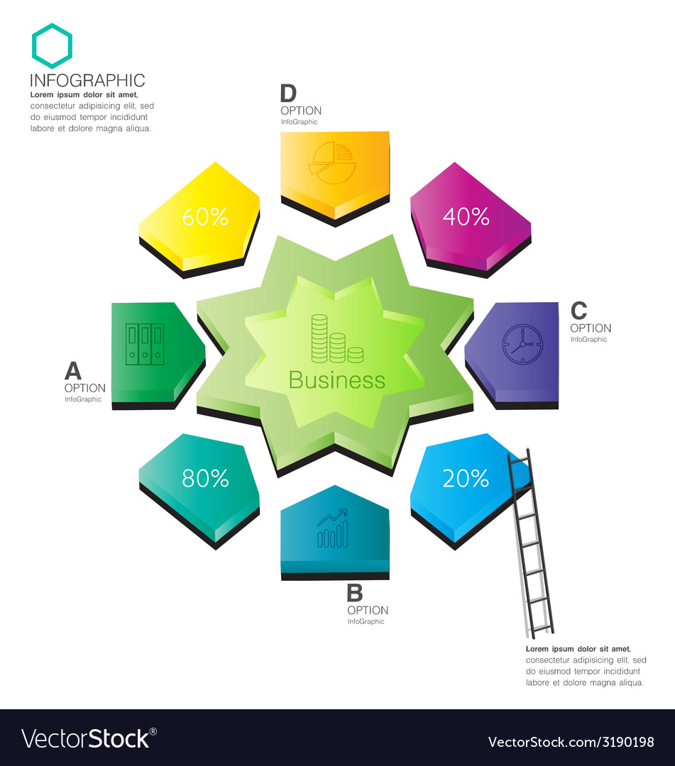 Infographic business vector   Price: 1 Credit (USD $1)