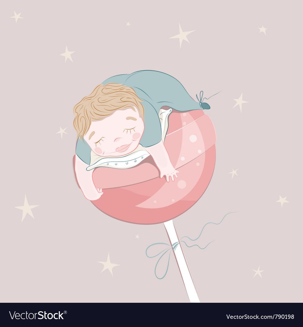 Sweet dreams vector | Price: 3 Credit (USD $3)