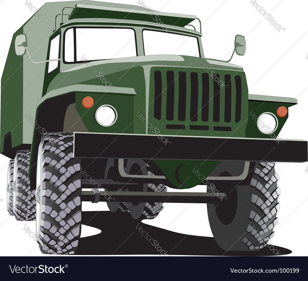 Army track vector | Price: 3 Credit (USD $3)