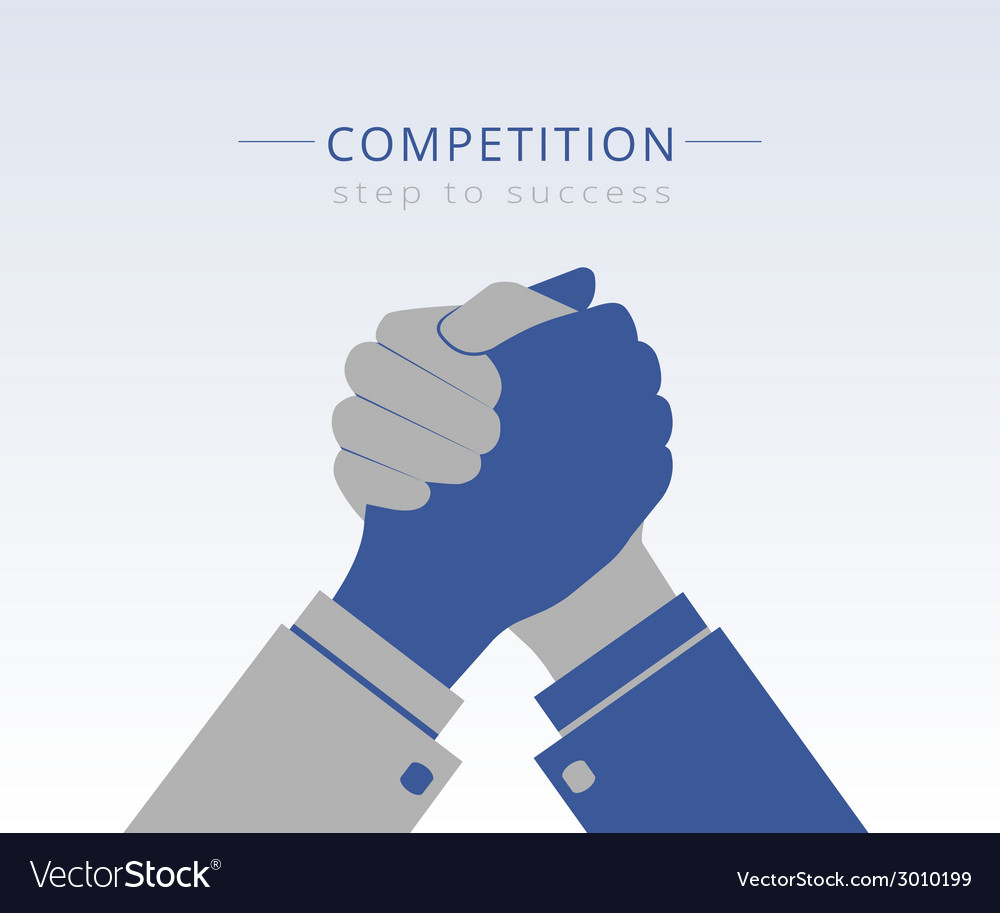 Business competition vector | Price: 1 Credit (USD $1)