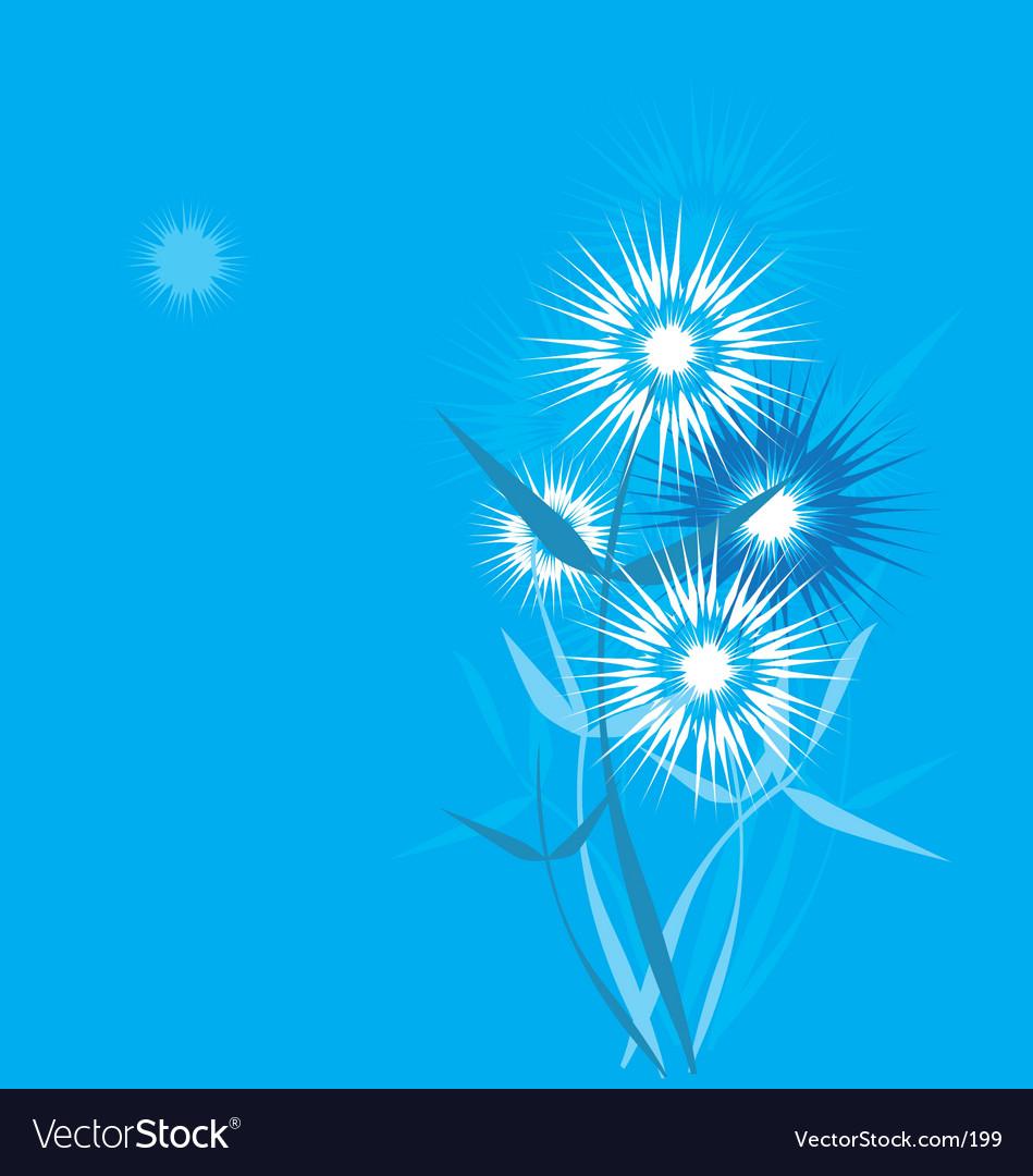 Dandelion stylized vector | Price: 1 Credit (USD $1)