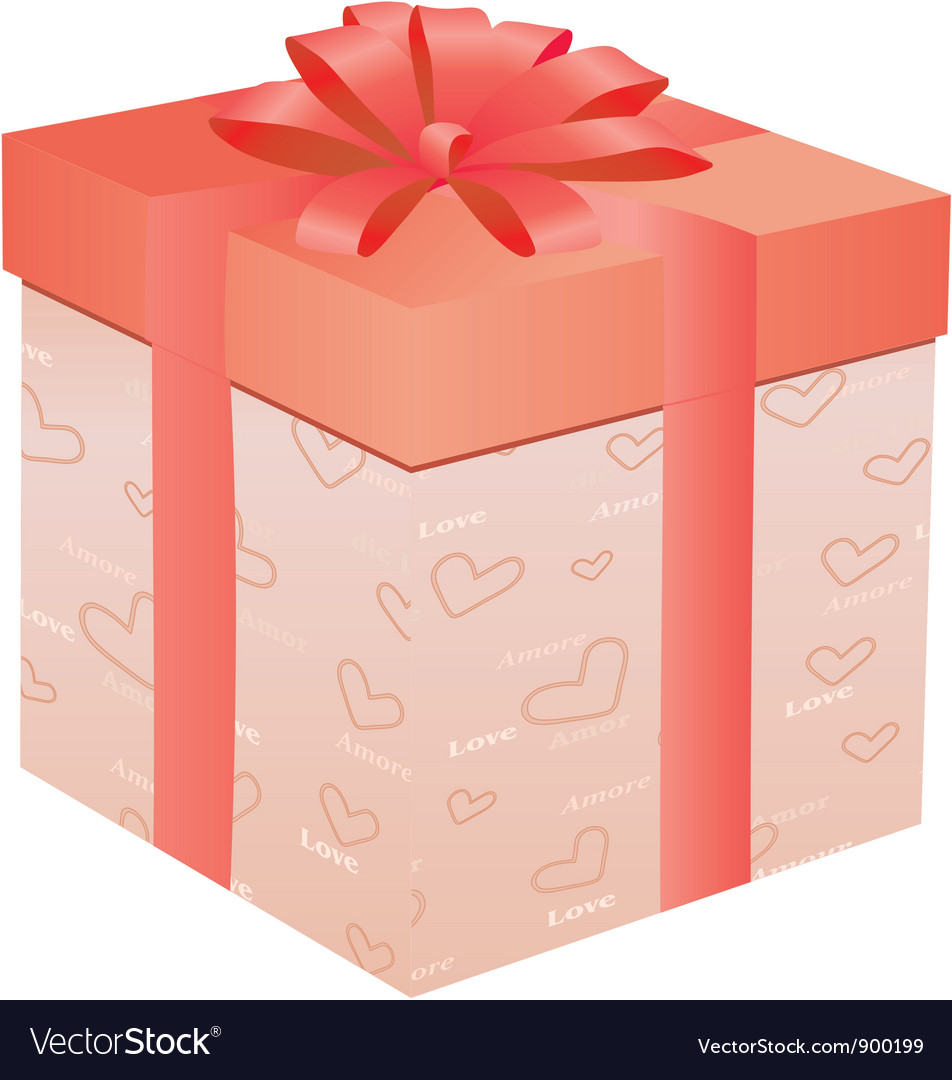 Gift for day of valentine vector | Price: 1 Credit (USD $1)